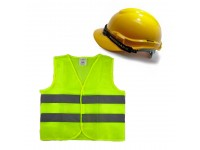 Proguard Safety Helmet Yellow Colour SIRIM And Reflective Vest for Construction Industry Site Work Topi Keselamatan Kuning  Dan Jacket LittleThingy