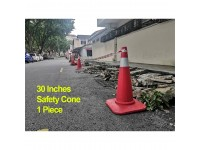 30 Inches Road Safety Cone Picasaf Traffic Cone (750mm height) Kon Selamatan Jalan Raya LittleThingy