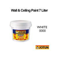 Jotun 7L White 0000, Jotaplast Max 000 Interior Emulsion Wall Paint Ceiling Paint Cat Dinding Rumah Warna Putih LittleThingy