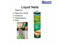 Vital Nails - 300ml Cartridge Ideal for Wet and Dry Timber, Aluminum, Particle Board, Brick LittleThingy