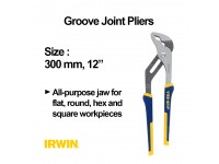 12 Inches Irwin Vise Grip 300 mm Groove Joint Pliers LittleThingy