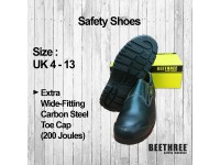 Low Cut Slip-On Safety Shoes (UK 4 - 13) Boots Footwear BT-8830 Kasut Keselamatan Bee Three LittleThingy