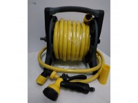 LittleThingy Lockflex Superior Hose Reel 15M Garden / Yellow Hose