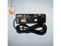 LittleThingy 3 Gang Extension Socket / Wire with Surge Protector 3 Meter Cable (SIRIM Approved)