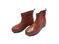 LittleThingy PVC Rain Shoes / Boots Maroon Colour