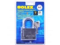 SOLEX Padlock R60-CR Rekeyable & Heavy Duty Lock Mangga Pintu LittleThingy