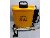 16L Plastic KnapSack Sprayer Gajah GJ-16 Ideal For Spray Water Fertilizers Herbicides And Pesticides Spray Racun Tak Pakai Bateri LittleThingy