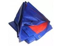 6ft x 9ft Canvas Blue Orange Waterproof PE Tarpaulin Sheet Cover for Vehicle Shield Kanvas Kanopi Khemah Kolam Ikan Pasar Malam Bazaar Ramadhon Lapik Meja