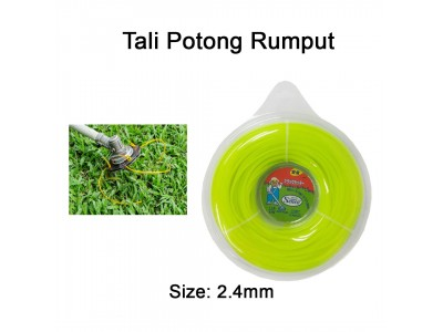 Nylon Mowing Rope Senco Grass Trimmer Cutter  For Garden Estate Grass Cutting Tali Mesin Rumput LittleThingy