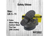 Low Cut Lace Up Shoes (UK 4 - 13) Safety Boots Footwear BT-8831 Kasut Keselamatan Bee Three LittleThingy
