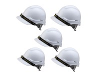 5pcs Proguard White Safety Helmet Sirim Certified LittleThingy