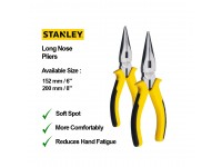LittleThingy Stanley 152mm 6 Inches / 200mm 8 Inches Long Nose Pliers With Various Sizes