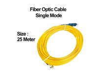 Fiber Optic Cable Single Mode FC/SC 25 Meter Patch Cord LittleThingy