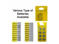 Battery AA / AAA / Alkaline 9V / CR 2032 IKEA Batteries Available Bateri LittleThingy