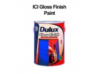 5L ICI Dulux Paint Gloss Finish White Black Grey Green Blue Metal Wood Surface Pintu Kayu Pagar Besi