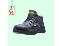 Leather Laced Shoes Safety Boots Footwear BT-8701 Kasut Keselamatan Bee Three LittleThingy