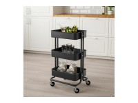 LittleThingy Multipurpose Layer Trolley Black / White / Dark Blue / Green Colour to Choose, Multi Layer