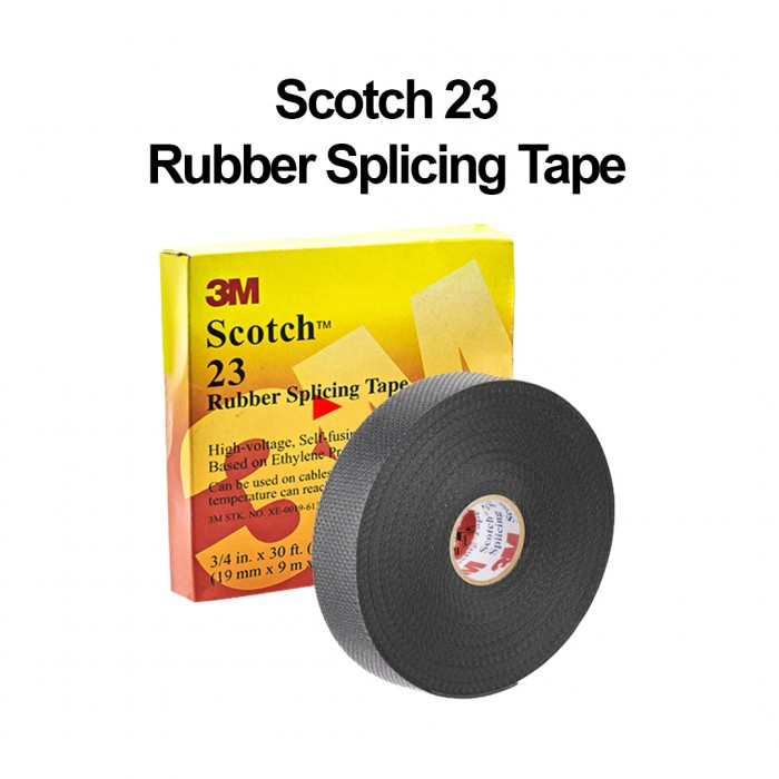 Littlethingy 3m Scotch 23 Rubber Splicing Tape High