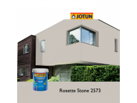 2573 Rosette Stone 5L Jotun Jotashield Antifade Colours Exterior Outdoor Wall Paint Anti Algae & Anti Fungal Cat Dinding Luar Rumah Tahan Cuaca