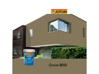 8050 Grove 5L Jotun Jotashield Antifade Colours Exterior Outdoor Wall Paint Anti Algae & Anti Fungal Cat Dinding Luar Rumah Tahan Cuaca