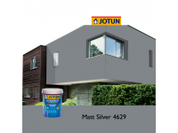 4629 Matt Silver 5L Jotun Jotashield Antifade Colours Exterior Outdoor Wall Paint Anti Algae & Anti Fungal Cat Dinding Luar Rumah Tahan Cuaca