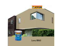 8063 Lena 5L Jotun Jotashield Antifade Colours Exterior Outdoor Wall Paint Anti Algae & Anti Fungal Cat Dinding Luar Rumah Tahan Cuaca