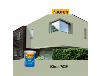 7039 Khaki 5L Jotun Jotashield Antifade Colours Exterior Outdoor Wall Paint Anti Algae & Anti Fungal Cat Dinding Luar Rumah Tahan Cuaca