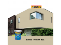 8357 Buried Tressure 5L Jotun Jotashield Antifade Colours Exterior Outdoor Wall Paint Anti Algae & Anti Fungal Cat Dinding Luar Rumah Tahan Cuaca