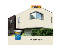 1574 Old Lace 5L Jotun Jotashield Antifade Colours Exterior Outdoor Wall Paint Anti Algae & Anti Fungal Cat Dinding Luar Rumah Tahan Cuaca