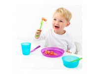 Cutlery Set (Assorted Colour) - 6 Sets for Kids And Toddler