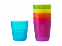 Mug or Cup (Assorted Colour) - 6 Pieces for Kids And Toddler