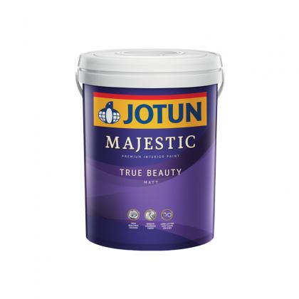 8237 Herbal Fusion 5L Jotun Majestic True Beauty Matt Interior Wall Paint Indoor Cat Dinding Dalam Rumah Tak Kilat LittleThingy