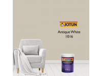 LittleThingy 1016 Antique White 5L Jotun Majestic True Beauty Matt Interior Wall Paint Indoor Cat Dinding Dalam Rumah