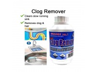 Clog Remover Strong For Removing Blockage Clogged Drain Pipe Basin Outlet Hair In Toilet Small Bones In Kitchen Sink Cuci Tandas Rambut Sinki Sumbat Tulang Makanan Kecil LittleThingy