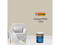 LittleThingy 1016 Antique White 5L Jotun Majestic True Beauty Sheen Interior Wall Paint Indoor Cat Dinding Dalam Rumah