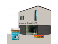 LittleThingy 2573 Rosette Stone 5L Jotun Essence Tough Shield Matt Exterior Wall Paint Outdoor Cat Dinding Luar Rumah