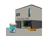 LittleThingy 1032 Iron Grey 5L Jotun Essence Tough Shield Matt Exterior Wall Paint Outdoor Cat Dinding Luar Rumah