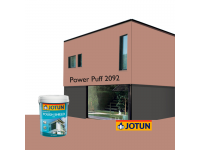 LittleThingy 2092 Power Puff 5L Jotun Essence Tough Shield Matt Exterior Wall Paint Outdoor Cat Dinding Luar Rumah