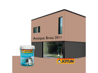 LittleThingy 2011 Antique Brass 5L Jotun Essence Tough Shield Matt Exterior Wall Paint Outdoor Cat Dinding Luar Rumah