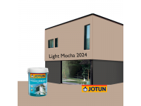 LittleThingy 2024 Light Mocha 5L Jotun Essence Tough Shield Matt Exterior Wall Paint Outdoor Cat Dinding Luar Rumah