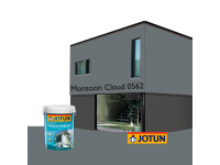 LittleThingy 0562 Monsoon Cloud 5L Jotun Essence Tough Shield Matt Exterior Wall Paint Outdoor Cat Dinding Luar Rumah