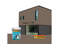 LittleThingy 1138 Beaver 5L Jotun Essence Tough Shield Matt Exterior Wall Paint Outdoor Cat Dinding Luar Rumah