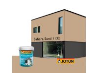 LittleThingy 1132 Sahara Sand 5L Jotun Essence Tough Shield Matt Exterior Wall Paint Outdoor Cat Dinding Luar Rumah