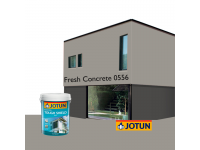 LittleThingy 0556 Fresh Concrete 5L Jotun Essence Tough Shield Matt Exterior Wall Paint Outdoor Cat Dinding Luar Rumah