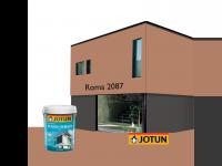 LittleThingy 2087 Roma 5L Jotun Essence Tough Shield Matt Exterior Wall Paint Outdoor Cat Dinding Luar Rumah
