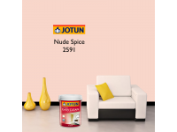 LittleThingy 2591 Nude Spice 5L Jotun Essence Easy Clean Matt Finish, Easy To Wash, Interior Wall Paint Indoor Cat Dinding Dalam Rumah Senang Dicuci