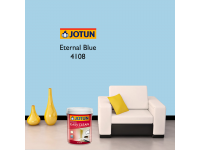 LittleThingy 4108 Eternal Blue 5L Jotun Essence Easy Clean Matt Finish, Easy To Wash, Interior Wall Paint Indoor Cat Dinding Dalam Rumah Senang Dicuci