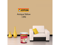 LittleThingy 1392 Antique Yellow 5L Jotun Essence Easy Clean Matt Finish, Easy To Wash, Interior Wall Paint Indoor Cat Dinding Dalam Rumah Senang Dicuci