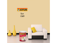 LittleThingy 1369 Sun 5L Jotun Essence Easy Clean Matt Finish, Easy To Wash, Interior Wall Paint Indoor Cat Dinding Dalam Rumah Senang Dicuci