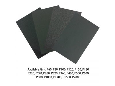 Sand Paper Grit 60 - 2000 Silicon Carbide Waterproof Full Range Grade Available Kertas Pasir LittleThingy